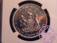 Rhodesia & Nyasaland 1955 Elizabeth II Proof 7 Coins Set  NGC PR64-66 Cameo