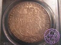 Mexico 1764 Mo-MF Charles III 8 Reales Pillar Dollar PCGS AU50
