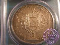 Brazil 1820 R Joao VI 960 Reis PCGS AU58