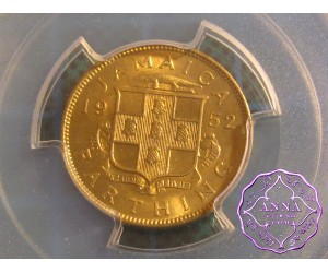 Jamaica 1952 George VI 1/4D PCGS MS66