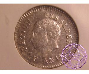 Haiti 1817  Alexandre Petion 25 Centimes NGC MS63