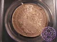 Hungary 1782 B Joseph II 1/2 Taler PCGS MS62