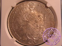 Hungary 1782 B  Maria Theresa Taler NGC MS65
