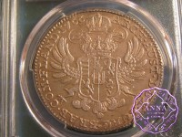 Austrian Netherlands 1766 Maria Theresa Thaler PCGS MS62