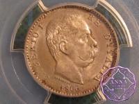Italy 1900 R Umberto Lira PCGS MS64+