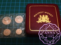 Great Britain 1979 Elizabeth II Prooflike BU Maundy Set With Original Box
