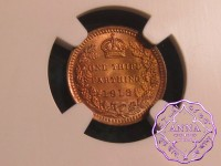 Great Britain 1913 1/3 Farting NGC MS66RD