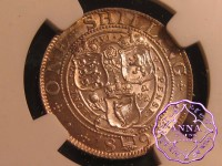 Great Britain 1898 Victoria Shilling NGC MS64