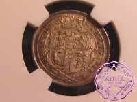 Great Britain 1816 George III Sixpence NGC MS66