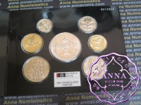 New Zealand 1991 Mint Coin Set, inc Rugby World Cup $5