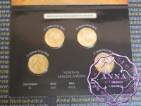 2010 RAM $1 UNC 100 years of Australian Coinage 4 Coin Set