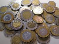 Mixed World Bi-metal coins 450g