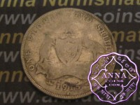 Australia 1915 H Florin Average Circulated Condition