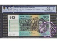 1979 $10 R307a Knight/Stone PCGS 67 OPQ 460000