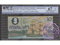 1988 R310b $10  2nd issue Johnston/Fraser PCGS 67 OPQ