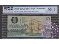 1988 R310b $10  2nd issue Johnston/Fraser PCGS 68 OPQ