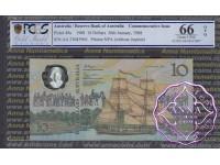 1988 $10 AA23 Johnston/Fraser PCGS 66 OPQ