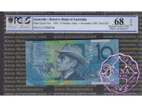 1993 $10 R316a Opt Fraser/Evans PCGS 68 OPQ