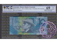 1993 $10 R316a Opt Fraser/Evans PCGS 69 OPQ