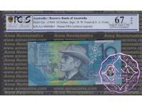 1994 $10 AA94 Fraser/Evans PCGS 67 OPQ