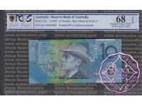 1994 $10 AA95 Fraser/Evans PCGS 68 OPQ
