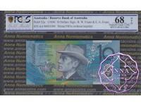 1996 $10 AA96 Fraser/Evans PCGS 68 OPQ
