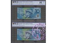 1993 & AA98 $10 Matching Pair PCGS 66 67 OPQ