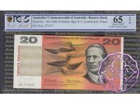 1966 $20 R401 Coombs/Wilson PCGS 65 OPQ