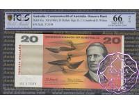 1966 $20 R401 Coombs/Wilson PCGS 66 OPQ