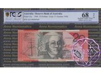 1994 $20 AA94 Black Opt R416aF Fraser/Evans PCGS 68 OPQ