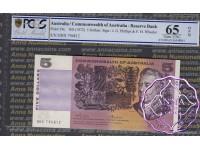 1974 $5 R204 Phillips/Wheeler PCGS 65 OPQ
