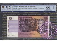 1974 $5 R205 Phillips/Wheeler PCGS 66 OPQ