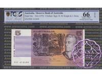 1979 $5 R207 Knight/Stone PCGS 66 OPQ