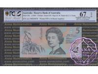 1994 $5 AA94 Fraser/Evans PCGS 67 OPQ