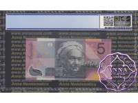 2001 $5 R219L Macfarlane/Evans PCGS 67 OPQ