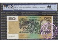 1973 $50 R505 Phillips/Wheeler PCGS 66 OPQ