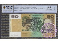 1979 $50 R507 Knight/Stone PCGS 65 OPQ