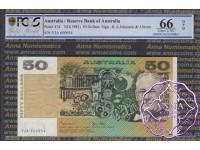 1983 $50 R508 Johnston/Stone PCGS 66 OPQ
