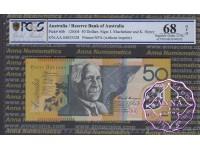 2004 $50 R520bF AA04 Macfarlane/Henry PCGS 68 OPQ