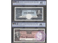 1991 + 94 Anniversary Full Banknotes Set PCGS