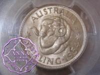 Australia 1954 Shilling PCGS MS64