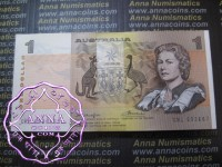 1976 $1 R76c Knight/Wheeler Boudne of 100 UNC