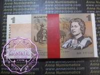 1982 R78 $1 Johnston/Stone Bundle of 100 UNC