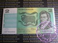 1985 R89 $2 Johnston/Fraser Bundle of 67 UNC