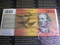 1989 $20 R411 Phillips/Fraser Bundle Of 100 UNC