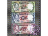 Swaziland 1982 Five Notes Specimen Set UNC