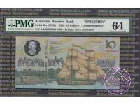 Australia 1988 Specimen AA$10 PMG64