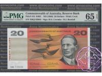 1967 $20 R402 Coombs/Randall Pair PMG65