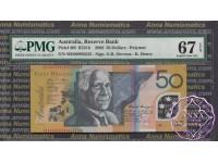 2008 $50 R521bL Stevens/Henry MD08 PMG 67 EPQ