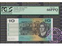 1968 $10 R303 Phillips/Randall PCGS 66 PPQ